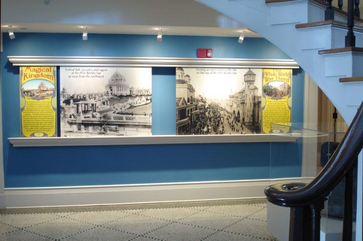 UI Old Capitol Museum display art